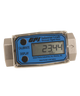 """GPI Flomec 1/2"""" NPTF High Pressure Stainless Steel Industrial Flow Meter, 1-10 GPM, G2H05N19GMA"""