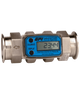 GPI Flomec Tri-Clover Stainless Steel Industrial Flow Meter, 2-20 GPM, G2S07T43GMC