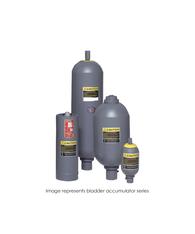 Bladder Accumulator, 3000 PSI, 2.5 Gallon, BUNA, SAE-24 TBR30-2.5NMFA