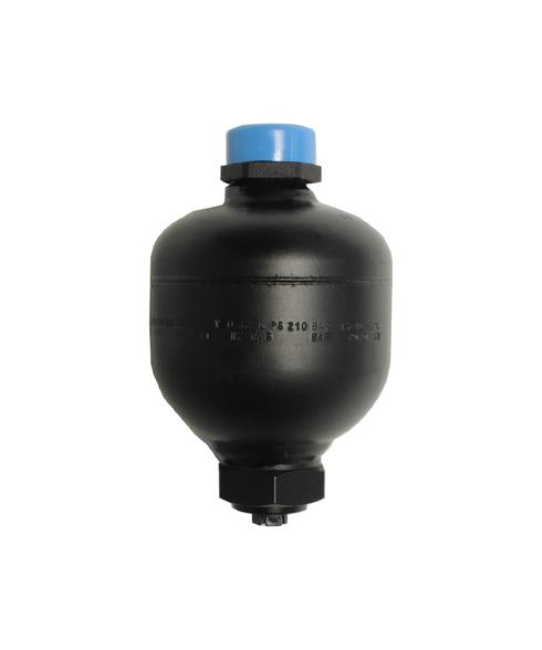 Diaphragm Accumulator, 3000 PSI, 0.32L, ECO/Hydrin, SAE-8 TD30-032UM9