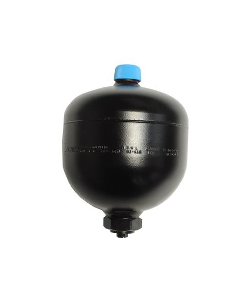 Diaphragm Accumulator, 3600 PSI, 1.4L, ECO/Hydrin, SAE-8 TD36-140UM9