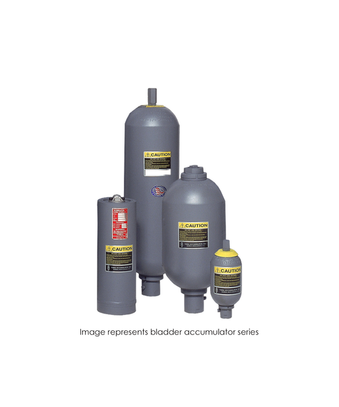 Bladder Accumulator, 3000 PSI, 15 Gallon, BUTYL, SAE-24 TBR30-15BMFA
