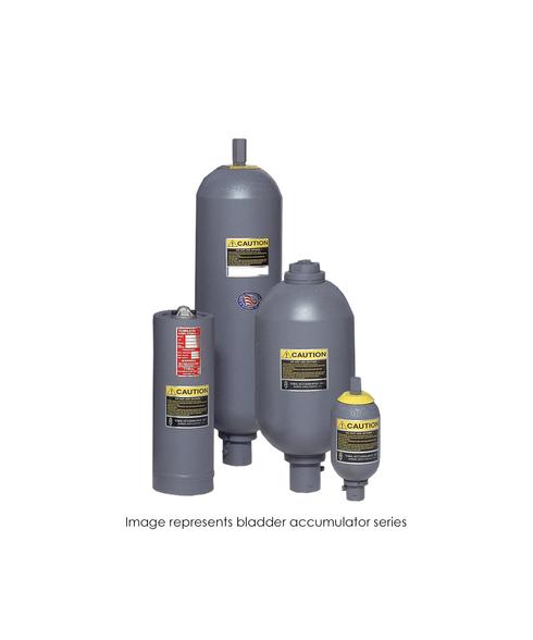 Bladder Accumulator, 3000 PSI, 2.5 Gallon, Hydrin (ECO), SAE-24 TBR30-2.5LMFA