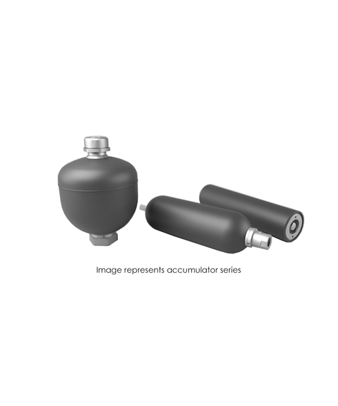Bladder Accumulator, Top Repairable, 3000 PSI, 2.5 Gallon, BUNA, SAE-24 TBRT30-2.5NMFA