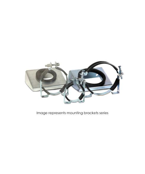 Bracket, TBR30 Series, 2-1/2 To 15 Gallon Lower Mount W/Grommet MB-TBR30-BL