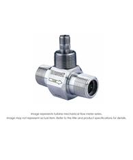 """Turbine Flow Meter, 1/2"", 5000 PSI, 0.75-7.5 GPM"" B110-500"