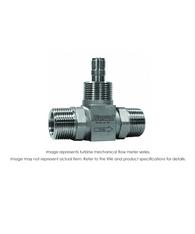 """Turbine Flow Meter, 10"", 800 PSI, 500-5000 GPM"" B111-200"