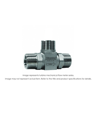 """Turbine Flow Meter, 10"", 800 PSI, 500-5000 GPM"" B112-200"