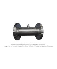 """Turbine Flow Meter, 4"", 2160 PSI, 100-1200 GPM"" B111-140-FEDAA"