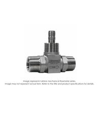 """Cement Slurry Flow Meter, 2"", 5000 PSI, 40-400 GPM"" B111-520"