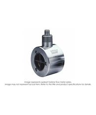 """Quiksert Turbine Flow Meter, 11/2"" x 2"", 16 PSI, 15-180 GPM"" B132-150"