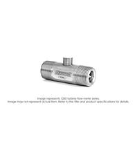 """1200 Turbine Flow Meter, Meter Only (No Pickup), 1/2"", 4000 PSI, 0.75-7.5 GPM"" B121251"