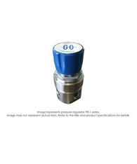 PR1 Pressure Regulator, Single Stage, Hast C, 0-10 PSIG PR1-6C11BCC111