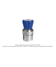 PR5 Pressure Regulator, Single Stage, SS316L, 0-25 PSIG PR5-1C41D5D111