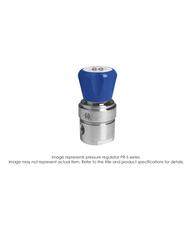 PR5 Pressure Regulator, Single Stage, SS316L, 0-50 PSIG PR5-1L11D5E111