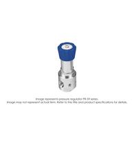 PR59 Pressure Regulator, Single Stage, SS316L, 0-2000 PSIG PR59-1F51H9L151