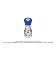 PR59 Pressure Regulator, Single Stage, SS316L, 0-750 PSIG PR59-1FA1H9W151