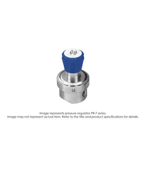 PR7 Pressure Regulator, Single Stage, SS316L, 0-50 PSIG PR7-1C11K8E111