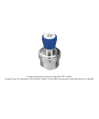 PR7 Pressure Regulator, Single Stage, SS316L, 0-100 PSIG PR7-1L11D8G111