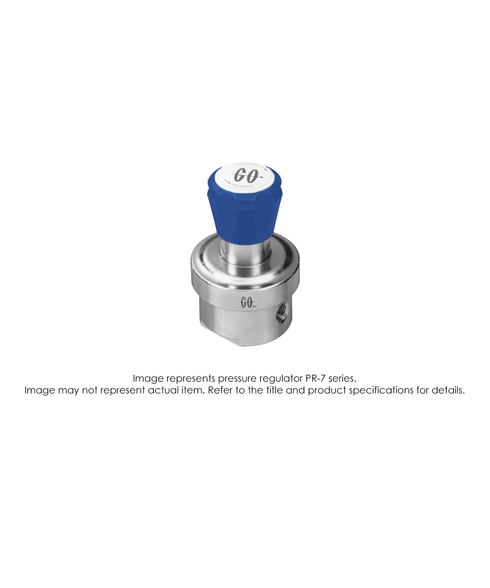 PR7 Pressure Regulator, Single Stage, SS316L, 0-25 PSIG PR7-1M51K8D121