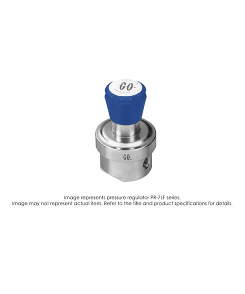 PR7L Pressure Regulator, Single Stage, SS316L, 0-75 PSIG PR7L-1F11H3F311
