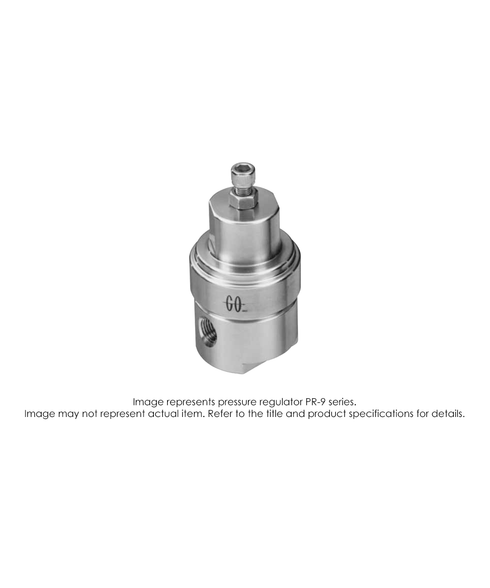 PR9 Pressure Regulator, Single Stage, SS316L, 0-10 PSIG PR9-1A11M3C1G1