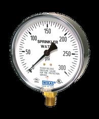WIKA Type 111.10SP Fire Sprinkler Pressure Gauge 0-300 PSI 4233761
