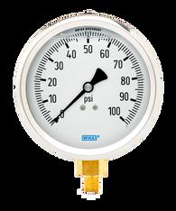 WIKA Type 213.53 Utility Pressure Gauge 0-100 PSI 9699125