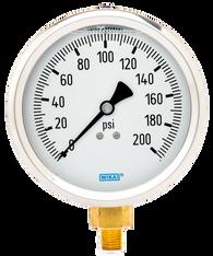 WIKA Type 213.53 Utility Pressure Gauge 0-200 PSI 9699134