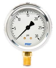 WIKA Type 213.53 Utility Pressure Gauge 0-30 PSI 9699109