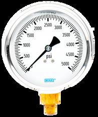 WIKA Type 213.53 Utility Pressure Gauge 0-5000 PSI 9699223
