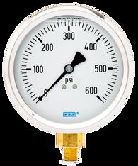WIKA Type 213.53 Utility Pressure Gauge 0-600 PSI 9699168