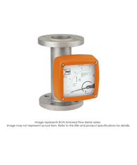 """BGN Flow Meter And Counter, All Metal Armored, Q-U, 1 1/4"""" NPT Female, 1.76-17.6 GPM to 11-110 GPM BGN-S506060"""