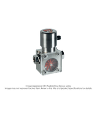 "DRH Paddle Flow Sensor, Material 18, 0.66-13.2 GPM, 1"" NPT DRH-1898N6"