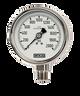 WIKA Type 232.53 Stainless Steel Industrial Gauge 0-30 in Hg Vacuum / 60 PSI 9745572
