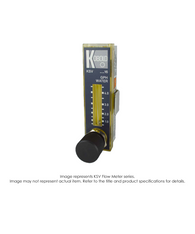KSV Economical Micro Flow Meter, Needle Valve, Buna N, 2.0-20 GPH KSV-3380