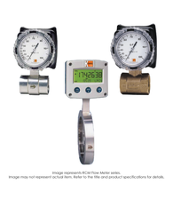 """RCM Flow Meter, Liquid, 3/4"""", 0.6-6 GPM RCM-5308"""