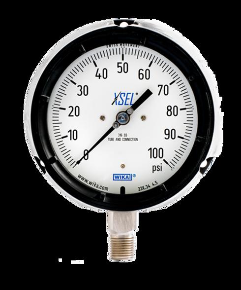 WIKA Type 232.34 XSEL Process Pressure Gauge 0-100 PSI 9834834
