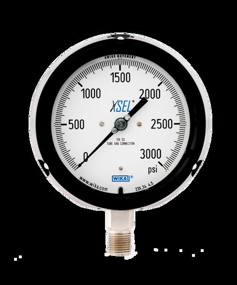 WIKA Type 232.34 XSEL Process Pressure Gauge 0-3000 PSI 9834923