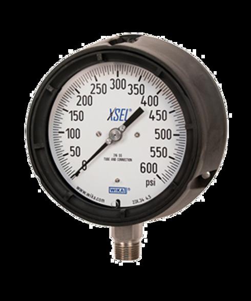 WIKA Type 232.34 XSEL Process Pressure Gauge 0-30 in Hg Vacuum 9834729