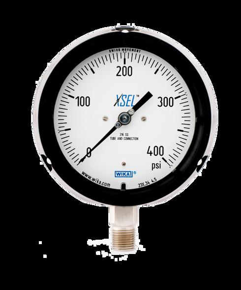 WIKA Type 232.34 XSEL Process Pressure Gauge 0-400 PSI 9834877