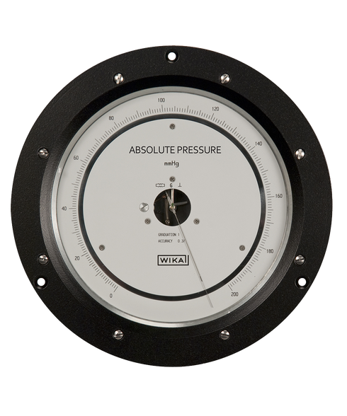 WIKA Wallace & Tiernan Absolute Pressure Gauge Series 300-6A