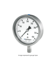 Ashcroft Type 1008S Stainless Steel Pressure Gauge 0-30 PSI 63-1008S-02L-30#