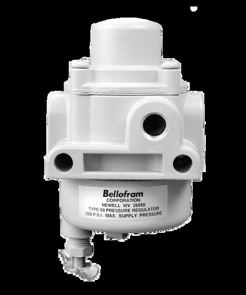 "Bellofram Type 60 Filter/Dripwell Regulator, 1/4"" NPT, 0-20 PSI, 960-070-000"