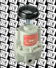 "Bellofram Type 70 High Flow Air Pressure Regulator, 1/4"" NPT, 0-30 PSI, 960-090-000"