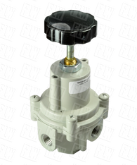 "Bellofram Type 41-1 Adjustable Precision Regulator (With O Bonnet Vent Port), 1/4"" NPT, 0-60 PSI, 960-171-000"