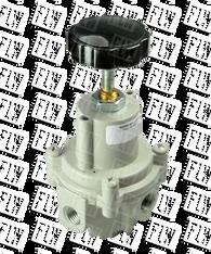 "Bellofram Type 41-1 Adjustable Precision Regulator (With O Bonnet Vent Port), 1/4"" NPT, 0-100 PSI, 960-172-000"