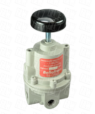 "Bellofram Type 70 High Flow Air Pressure Regulator, 3/8"" NPT, 0-2 PSI, 960-174-000"