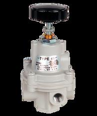 "Bellofram Type 41-2 Adjustable Precision Regulator (With Bonnet Vent Port), 1/4"" NPT, 0-30 PSI, 960-181-000"