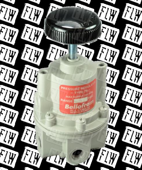 "Bellofram Type 70 BP High Flow Back Pressure Air Regulator, 3/8"" NPT, 0-30 PSI, 960-198-000"